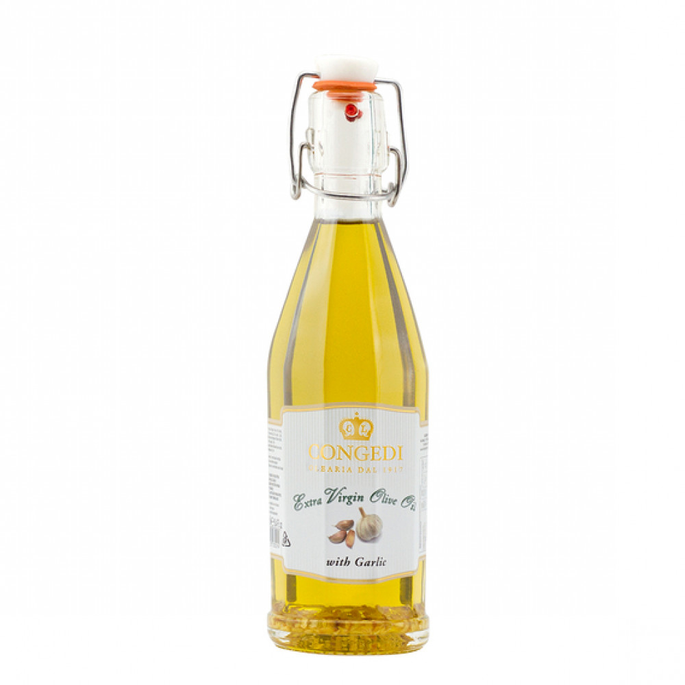 .EXTRA VIRGIN OLIVE OIL Flavoured with garlic